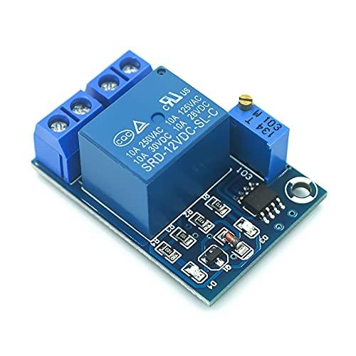 GzxLaY DC 12V Bajo Voltaje de la batería Bajo Voltaje de Corte Interruptor automático Módulo de protección de recuperación Placa de protección del Controlador de Carga