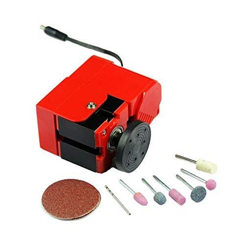 LIANGANAN Mini portátil Torno 24W 2000 RPM Tipo de Metal de Bricolaje a Mano Torno de Mano Mini máquina de Educación