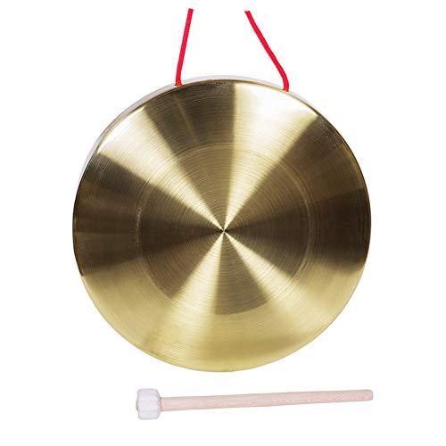 Original Tam Tam Gong Hand-Gong Becken Aus Messing Und Kupfer Chinesisches Feng Schlaginstrument Kupfer Percussion Instrumente Mit Runde Spiel Hammer Toller Klang,Messing,15cm