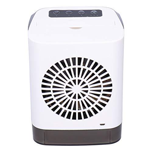 Ventilador de refrigeración, Mini Enfriador de Aire de Escritorio con indicador Nocturno para Sala de Estar, Oficina, hogar, Dormitorio