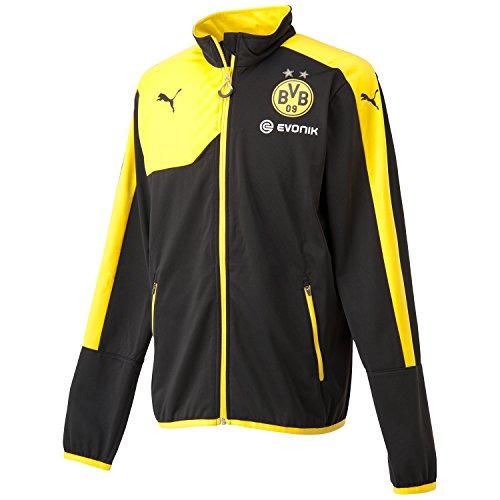PUMA BVB Training Dortmund - Sudadera de fútbol para Hombre, Color Negro, Talla S