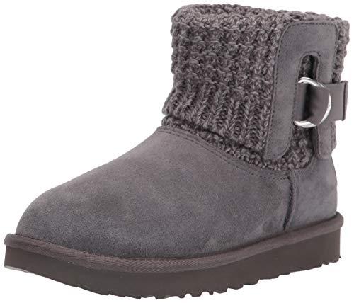 UGG Classic Solene Mini Boot, Charcoal, Size 8