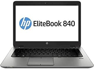 "HP EliteBook Laptop 820 G1 12.5"" i5-4300U@1.90GHz 4GB RAM 128GB SSD DP Win10(Renewed)"