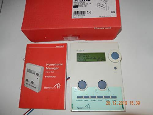 Honeywell HCM200 Homeotronic, afstandsbediening voor verwarmingsregeling met handleiding (mogelijk niet beschikbaar in het Nederlands).
