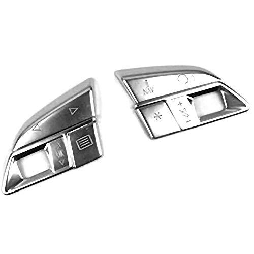 MPOQZI Accesorios de Coche Botones del Volante Lentejuelas decoración de la Cubierta del Ajuste, Apto para Audi A3 8V A4 B8 B9 Q3 Q5 A5 A7