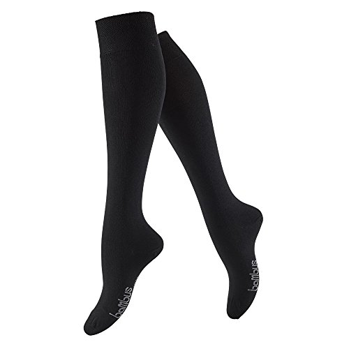 TippTexx24 6 Paar Bambussocken in 5 Varianten, für Jeden die richtigen Socken (Kniestrumpf, 43-46)