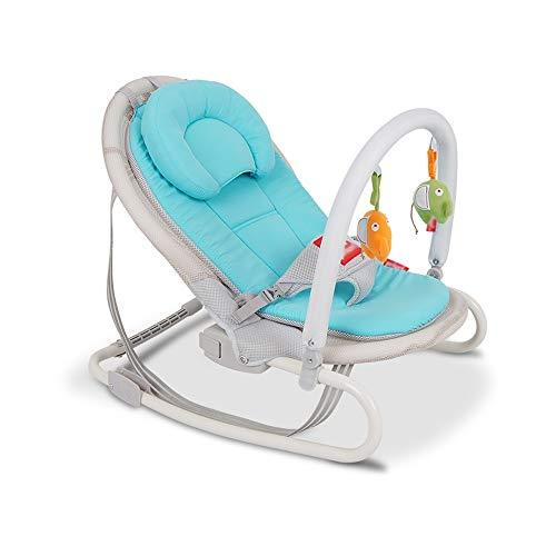 Znesd Oscilación del bebé mecedora eléctrica bebé Cuna con basculante portátil con calmar...