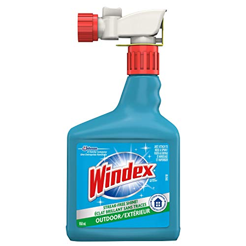 Windex Outdoor Glass, Window and Surface Cleaner - 950ml
