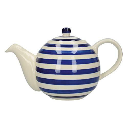 London Pottery Globe Tetera con colador, gres
