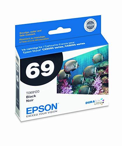 Epson T069120-D2 Dual Pack Black Ink Cartridges