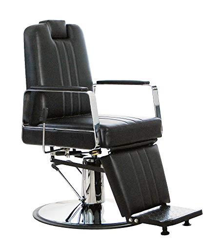 Sillón de barbero profesional hidráulico modelo IXIE