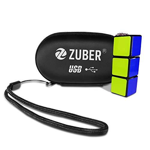 ZUBER–Memoria flash USB cubo de Rubik® novedad clave pen drive memory stick regalo Reino Unido