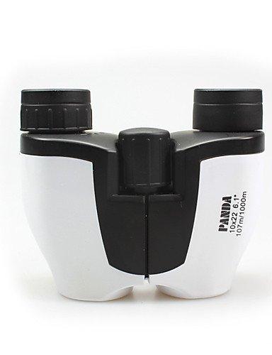 PIGE Utilisation générale Mise au point PANDA 10 22mm mm Jumelles Weather Resistant 107m / 1000m 30mm centrale multi-couches