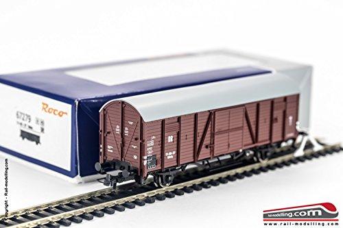 Roco H0 Gedeckter Güterwagen DR III