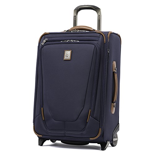 Travelpro Crew 11 22' Carry-on Expandable Rollaboard w/Suiter and USB Port, Patriot Blue