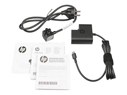 HP Chargeur USB-C 45 Watts Original pour la Serie Spectre x360 13-w000