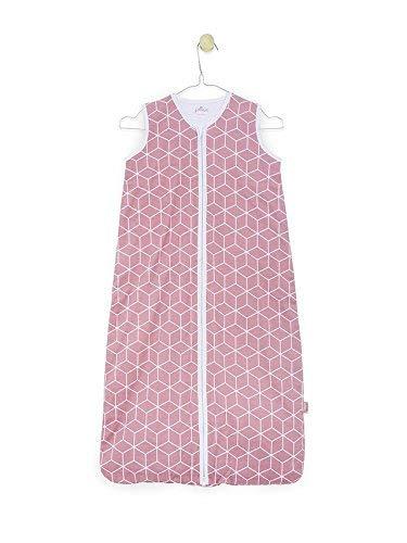 Jollein 048-510-65119 slaapzak zomer jersey Graphic mauve, 70 cm, roze