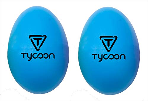 Tycoon Percussion Plastic Egg Shakers - Blue