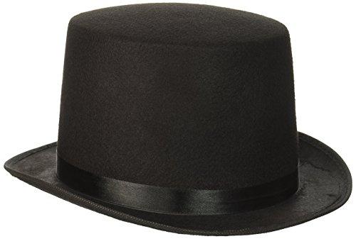 Forum Novelties Deluxe Chapeau Haut-de-Forme, Noir