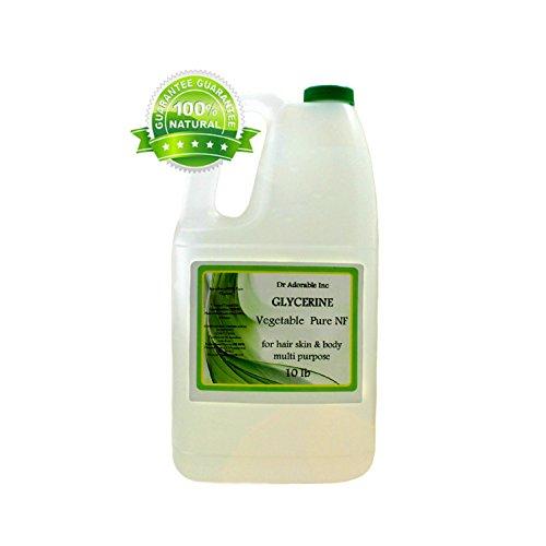 10 Lb Glycerin Vegeteble Kosher Pure USP Grade/Glycerine/Glycerol