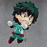 Liiokiy Anime Carácter Q Edición My Hero Academia Modelo Decoración Arte Estatuas PVC Modelo Hecho A Mano Juguetes Coleccionables Decoraciones de Juguetes Regalos Regalos Modelo Animaciones Arte Perso