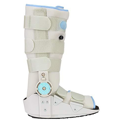 PHASFBJ Tobillera de Pie para Fractura de Botas, Botas Ortopedicas Soporte Ferulas para Fascitis Plantar Post Ligamento y Cirugía de Tendón Esguinces de Tobillo y Reparaciones de Aquiles