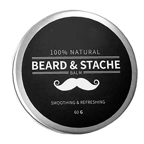 Beard Balsam für Männer Wachstum Wachs Butter Styling Enthärter Conditioner Befeuchten Natural Ingredients