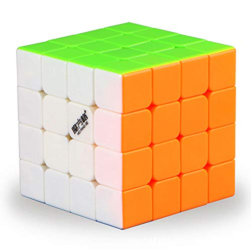 LiangCuber Qiyi Wuque 4x4 Stickerless Speed Cube QiYi MoFangGe WuQue 4x4x4 Magic Cube 62mm Stickerless Puzzle