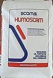 Humoscam Stallatico Pellettato Concime Organico Biologico Azotato 25 kg