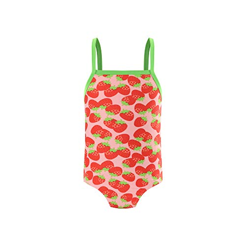 Eono Essentials Einteiliger Kinderbadeanzug für Mädchen, 5 Jahre I Badeanzug mädchen