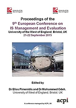 Paperback Ecime 2015 - Proceedings of the 9theuropean Conference on Is Management and Evaluation Book