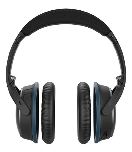 Almofadas auriculares de substituição para fones de ouvido Bose QC15 e QC25, isolamento de ruído melhorado + conjunto de almofadas auriculares de couro sintético Supreme Comfort (Ae2i, Quietcomfort 15, Quiet Comfort 25)