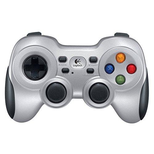Controle de Jogos sem fio Logitech F710 para PC e TV