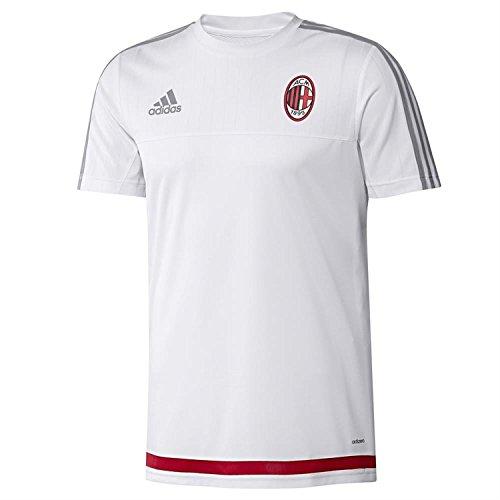 Maglia Calcio Allenamento Adidas A.C. Milan Training Jersey Ufficiale Bianca 2015/16