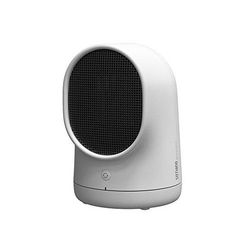 Mettime Personal Calefacción, 500W portátil eléctrico Calefacción, Mini Ultra silencioso, überhitzer & Tip de Over de protección para casa y Oficina Utilizar, Blanco