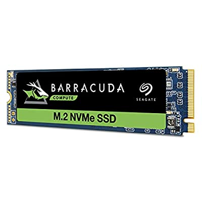 Seagate Barracuda 510 512GB SSD Internal Solid State Drive – PCIe NVMe 3D TLC NAND for Gaming PC Gaming Laptop Desktop (ZP512CM30041)