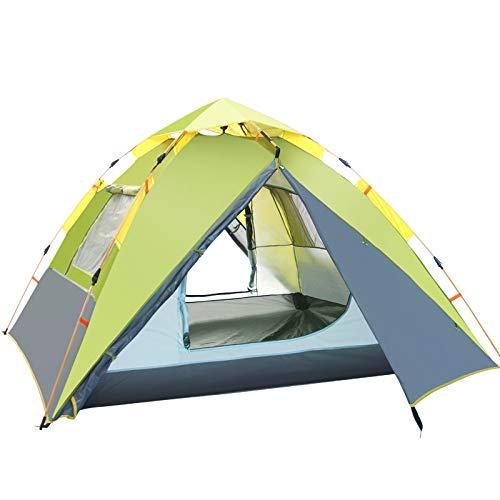DYX 2 Tiendas de campaña al Aire Libre 3-4 Personas Tienda de campaña automática Familia de Camping a Prueba de Lluvia