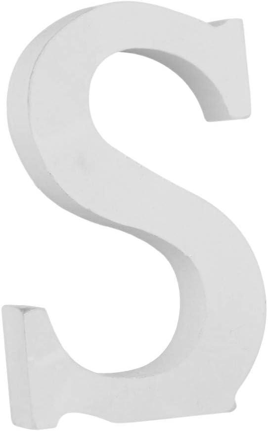 Smartcoco DIY Wooden Large Size Hight 15 cm Letter A B C D E etc 26 Letters Heart Shape Arbitrary Collocation Design Home Party Decor