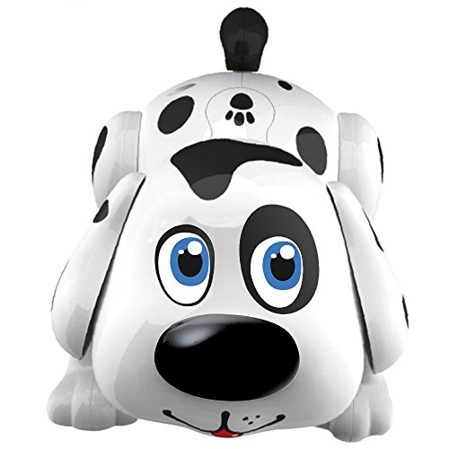 WEofferwhatYOUwant Electronic Pet Dog Harry. Batteries Included. Interactive Smart Puppy Toy Robot Responds to Touch, Walks, Barks, Sings, Dances, Chasing Fun Activities.