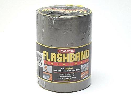 Evo Stik Roll Grey Flashband 300mm X 10m 220003 by Evo-Stik