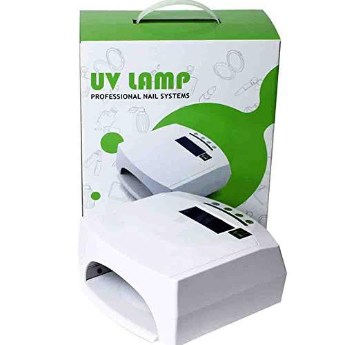Lampes UV La double source lumineuse intelligente automatique d'induction LED du dessiccateur infrarouge de clou 48w s'allume avec la machine 110 / 220v de photothérapie de fan
