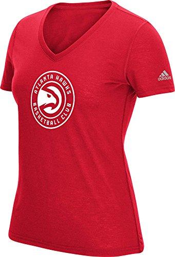 NBA–T-Shirt con Logo della Squadra 15,2cm ClimaLite Ultimate a Manica Corta 2.0, Donna, Red, XL