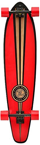 Z-Flex Longboard Kick Tail, Red, 9.0 Zoll, ZFLLOBKITA