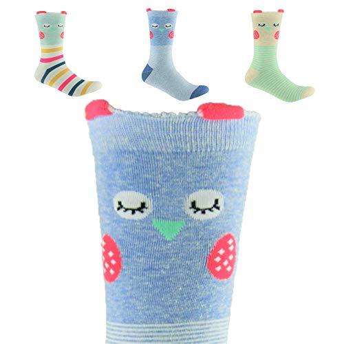 Trendcool Calcetines Mujer Divertidos Talla 36-40. Pack Calcetines Largos 98% Algodón Estampados....