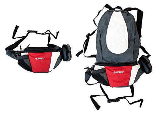 Hi-Tec Bauchtasche Rucksack wandelbar Gürteltasche Wandertasche Hüfttasche