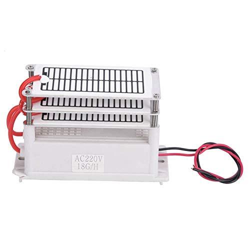 Generador de ozono portátil de 18 g/h - Ozonizador de agua - Purificador de agua - Esterilizador de ozono - Formaldehído - Eliminación AC220/AC110 V - 90 W opcional (220 V)