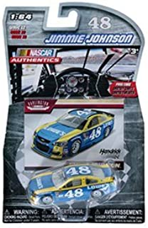 2016 Darlington Retro Paint Scheme NASCAR AUTHENTICS #48 JIMMIE JOHNSON LOWES 1/64 1:64 SCALE DIECAST RACE CAR With Collector Card