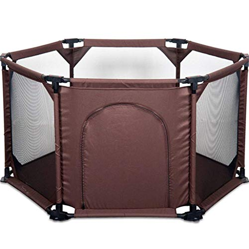 Why Choose JFFFFWI Portable Baby Playpen High Density Mesh Easy to Assemble and Disassemble, Double ...