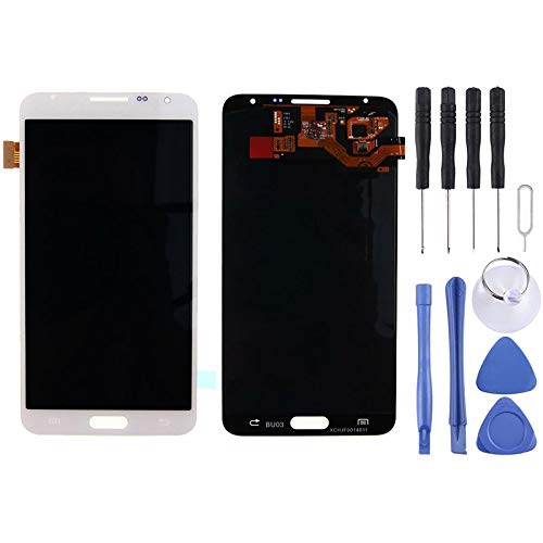 Display Mobile Display LCD + Touch Panel for Galaxy Note 3 Neo/Lite N750 / N7505 (Grigio) (Color : White)
