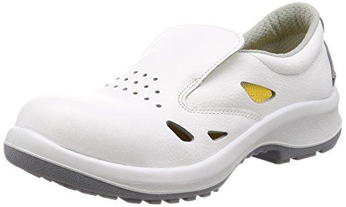 [ミドリ安全] 静電安全靴 JIS規格 女性用 通気タイプ 短靴 プレミアムコンフォート LPM200 通気静電 ホワイト 24 cm 3E